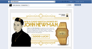 Casio_JohnNewman_FacebookCompetition_051213