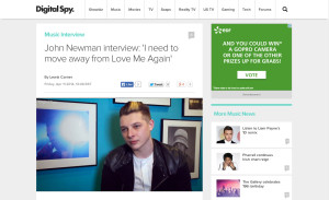 DigitalSpy_JohnNewman_Interview_110413