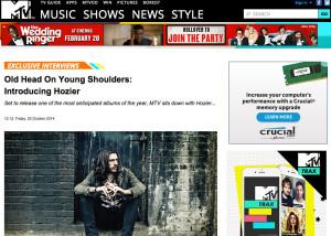 Hozier-MTV