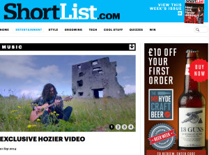Hozier-Shortlist-Video-Prem