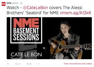 NME Tweet