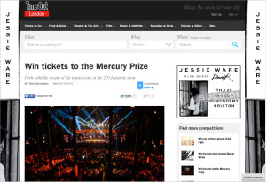 TimeOut_MercuryPrize2014_Competition_161014